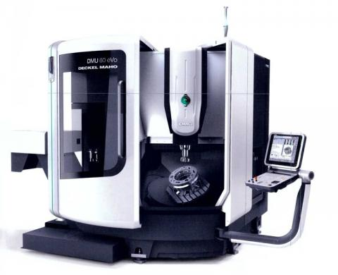 Abbildung: 5 Achs-Simultan Fräsmaschine DMG