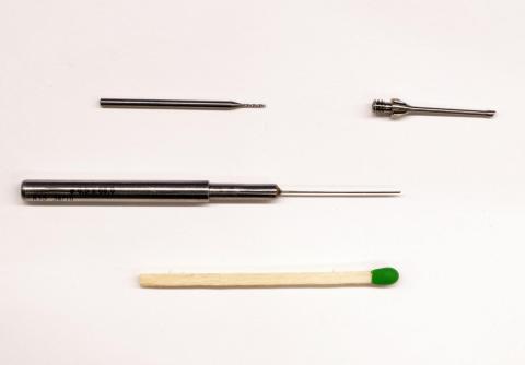Abbildung: Tieflochbohren Ø0,5mm